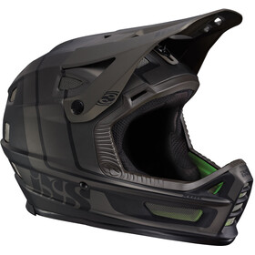 IXS Xult Fullface Helm black/silver